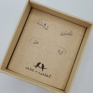 NWT Stud Earring Set